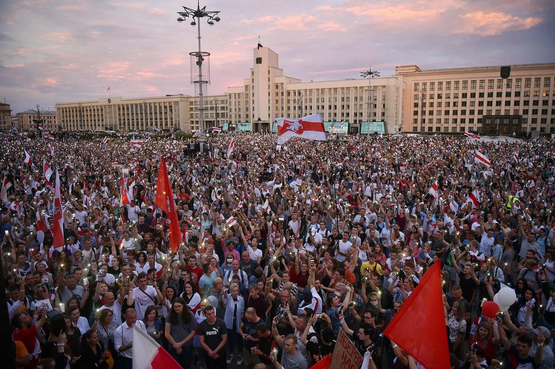 Baltarusijos opozicija ragina gyventojus rengti naujus protestus prieš A. Lukašenką