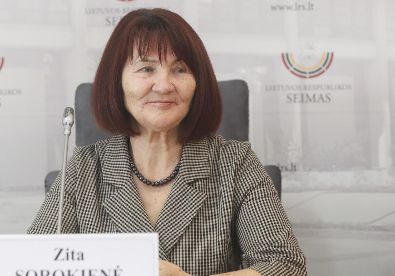 Z. Sorokienė: šio pirmadienio laukė visi prekybininkai, kurie iki šiol negalėjo atsidaryti