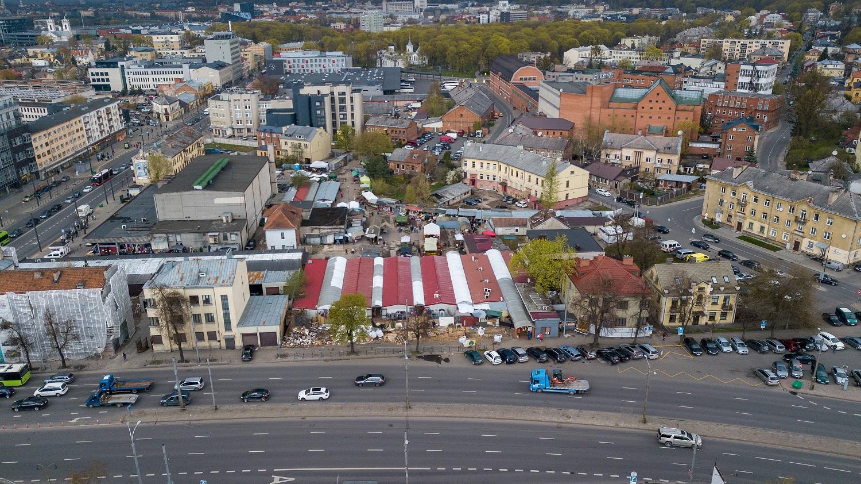Turgus prie Kauno geležinkelio stoties iš esmės pasikeis