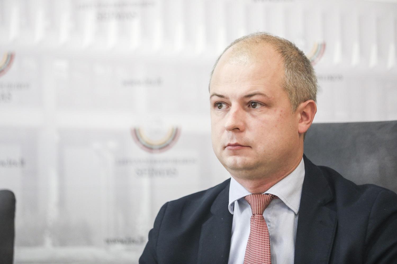 """S. Gentvilas: po gaisro """"Klaipėdos medienoje"""" tarša mieste nepadidėjo"""