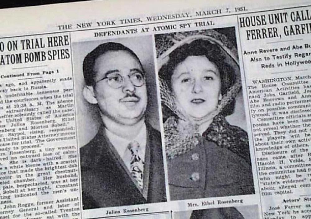 Meilė sovietams niujorkiečių porą atvedė į elektros kėdę