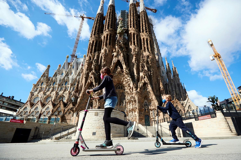 Barselonos Šv. Šeimynos bažnyčios rekonstrukcija užsitęs