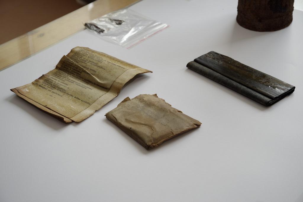 Kuršėnų apylinkėse rasti Lietuvos partizanų dokumentai
