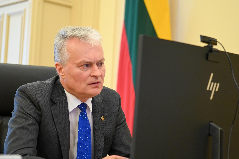 Du metai prezidentavimo: G. Nausėda skaitys dar vieną metinį pranešimą