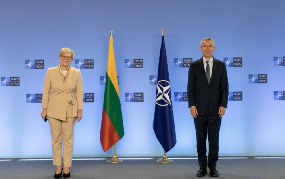 I. Šimonytė: Rusijos agresija ir prastėjanti padėtis Baltarusijoje primena būtinybę stiprinti atgrasymą ir gynybą