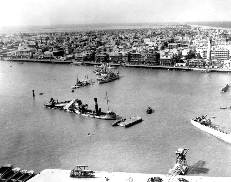 Sueco kanalas buvo užtvertas ne kartą