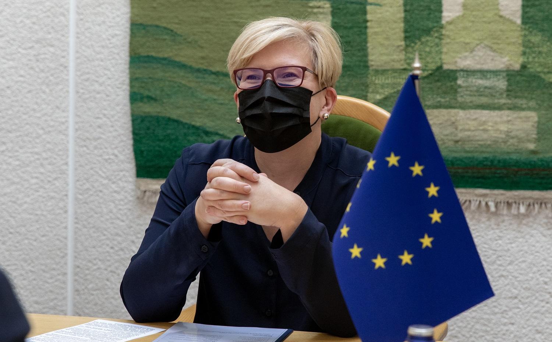 I. Šimonytė: Lietuvai svarbiausia, kad nereikėtų spręsti, kieno argumentai geresni – ES ar JAV