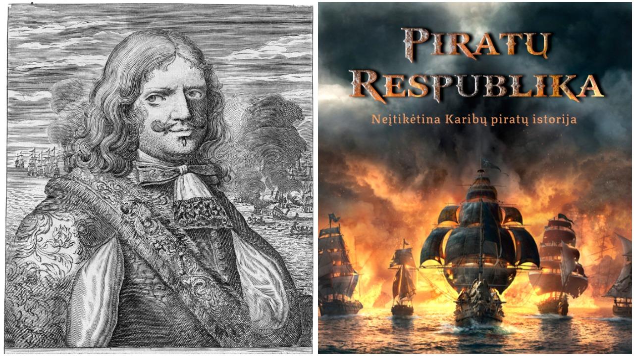 Piratų Respublika. Neįtikėtina Karibų piratų istorija (+ knygos ištrauka)