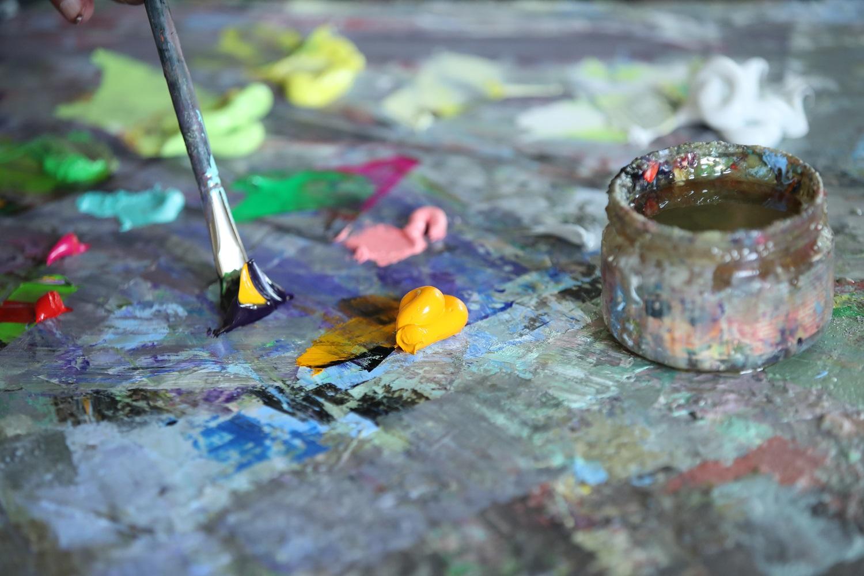 Atradimai Troškūnuose tęsiasi: į plenerą susirinko žymūs menininkai