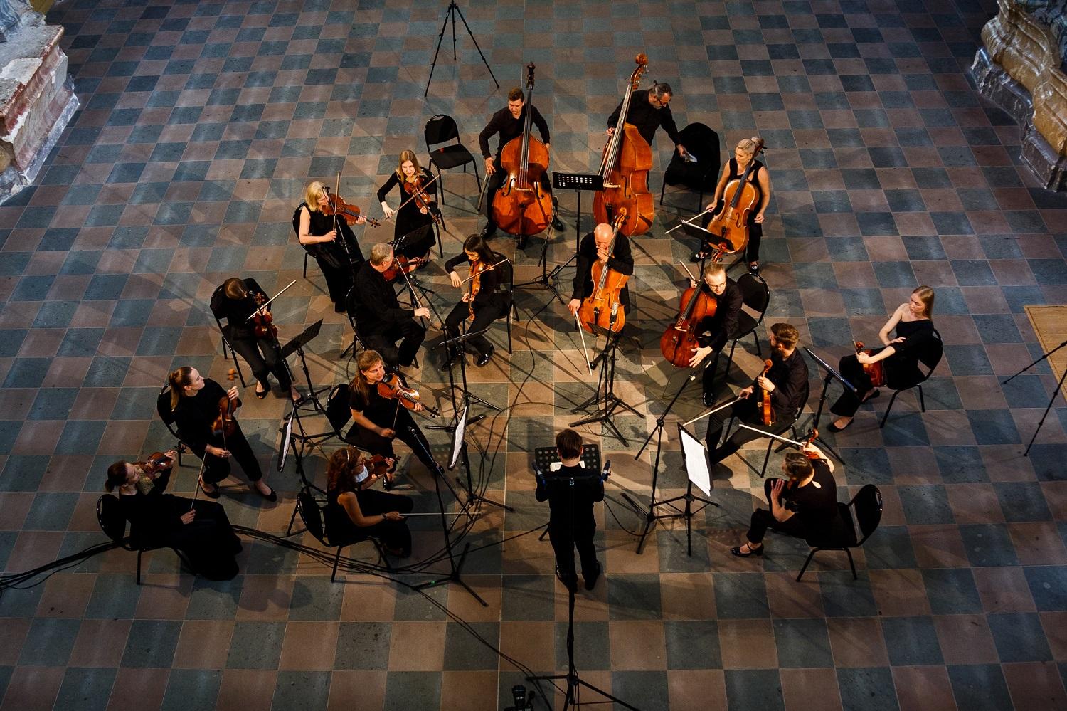 Išskirtinis įvykis - koncertas skirtas maestro Krzysztofui Pendereckiui