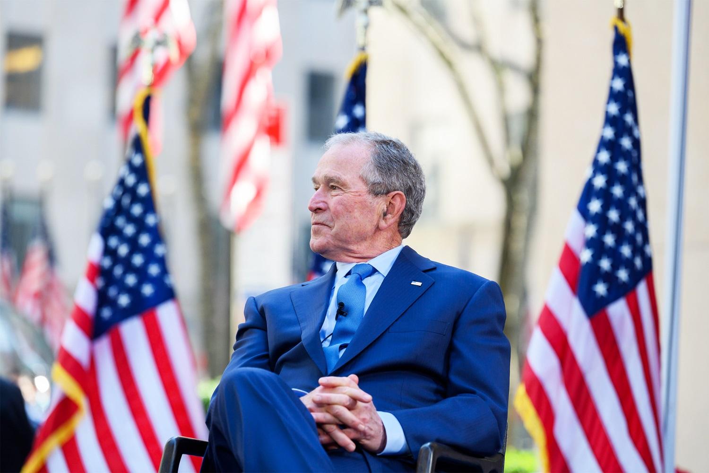 G. W. Bushas: pajėgų išvedimas iš Afganistano yra klaida