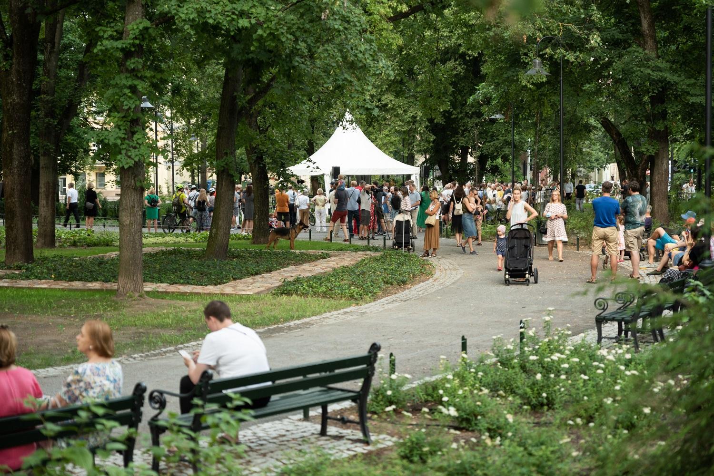 Vilniaus veido atspindys: kaip atrodo lankytojams atvertas Reformatų sodas
