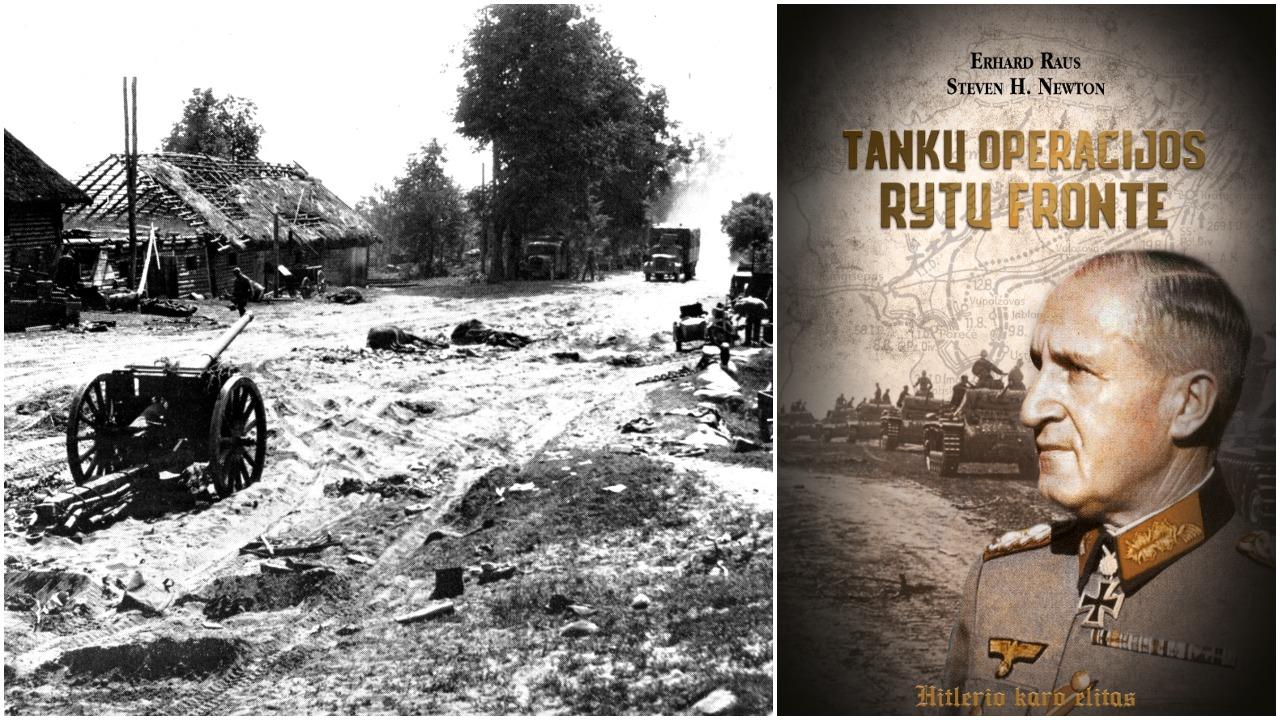 Tankų operacijos Rytų fronte (+ knygos ištrauka)