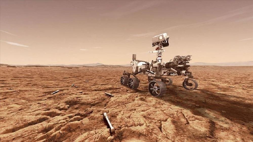 Ant atradimų eros slenksčio: ruošiamasi paimti pirmuosius uolienų mėginius nuo Marso paviršiaus