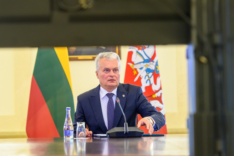 Dėl migrantų krizės G. Nausėda kreipėsi į ES lyderius: sienos apsauga yra visų narių bendra atsakomybė