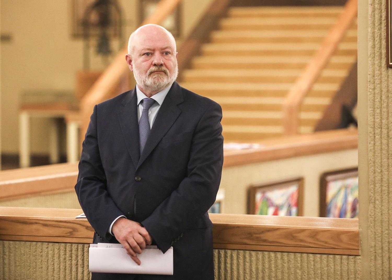E. Gentvilas: sprendimas apgręžti migrantus veda prie to, kad A. Lukašenka gali pats jais paspringti