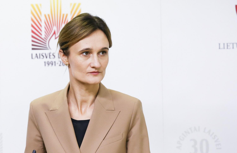Seimo pirmininkė apie planuojamą naują protestą: ruošiamės viskam