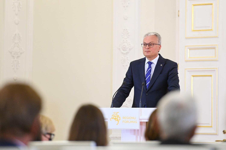 """G. Nausėda: abejojama, kad """"Nord Stream 2"""" bus naudingas ES"""