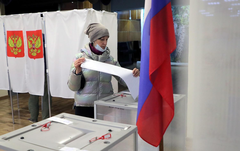 Jokių netikėtumų: Rusijos parlamento rinkimus laimėjo Kremliaus partija