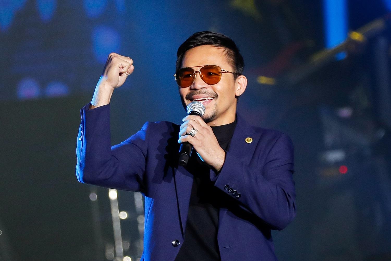 Legendinis boksininkas sieks tapti Filipinų prezidentu