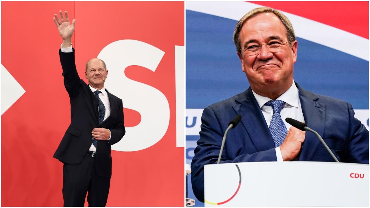 Vokietija žengia į nežinomybę abiem varžovams siekiant vadovauti vyriausybei