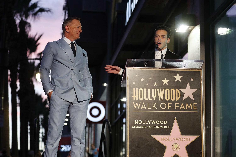Džeimso Bondo aktorius D. Craigas pagerbtas žvaigžde Holivudo šlovės alėjoje