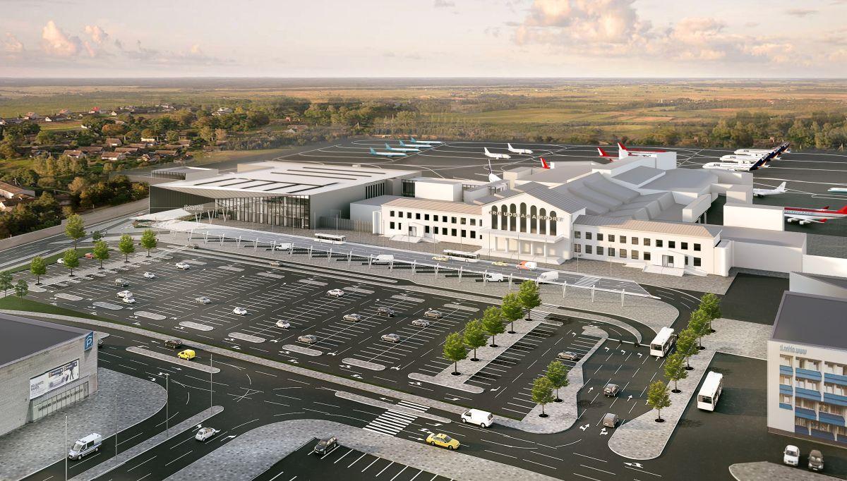 Paskelbtas naujo išvykimo terminalo statybos Vilniaus oro uoste viešasis pirkimas