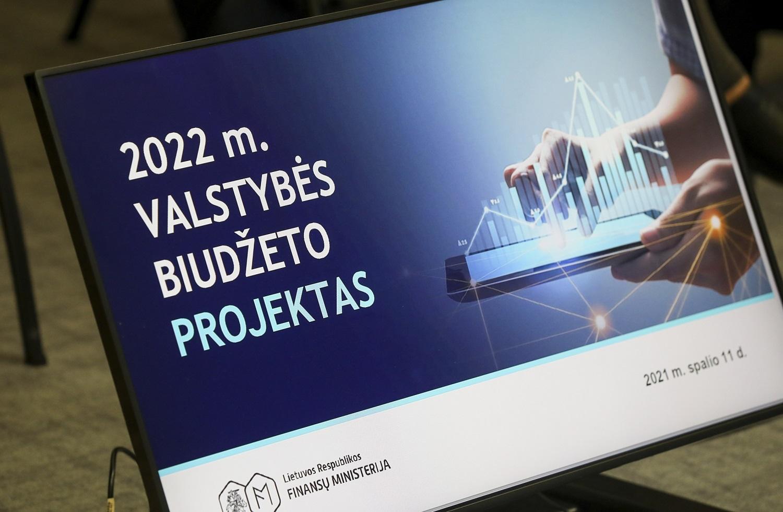 Kitų metų biudžete – 4 kryptys, skaičiuojamas 2,6 mlrd. eurų deficitas