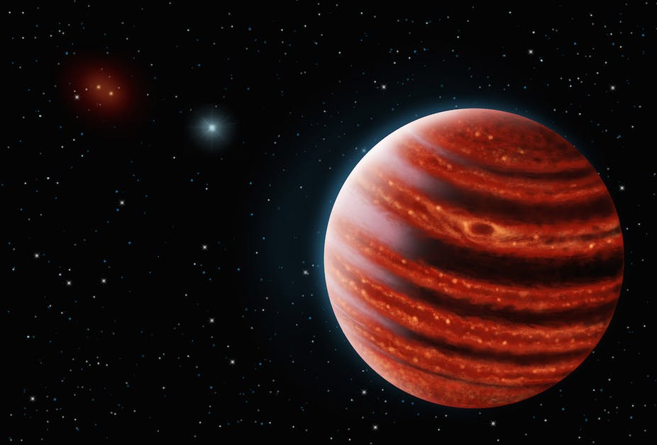 NASA zondas tirs Jupiterio asteroidus