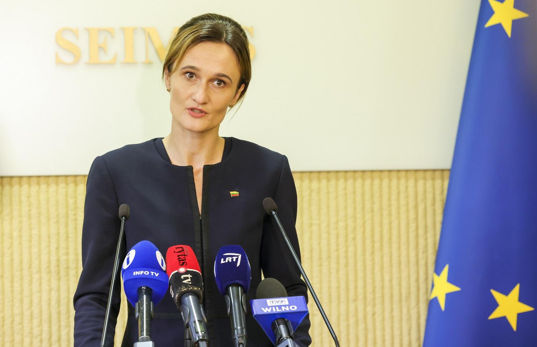 V. Čmilytė-Nielsen pasakė, ar Lietuva seks Latvijos pavyzdžiu įvesti karantiną