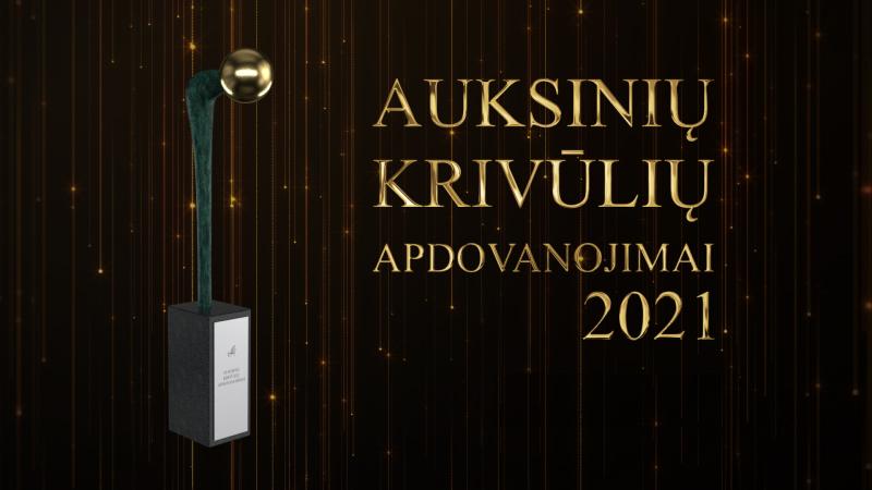"""Savivaldybėms įteikti svarbiausi metų apdovanojimai – """"Auksinių krivūlių"""" statulėlės"""