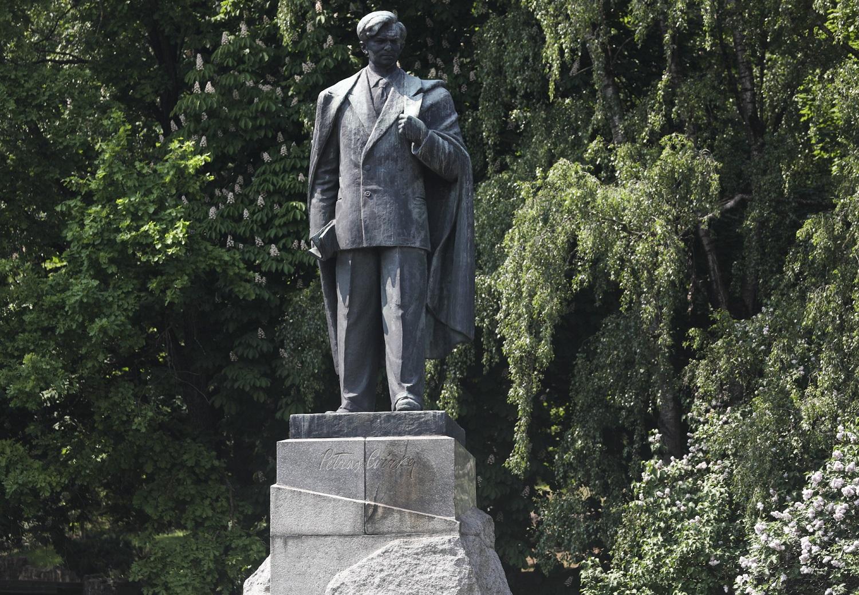 Vilniaus vicemeras: realu, kad P. Cvirkos paminklas bus nukeltas dar šiemet