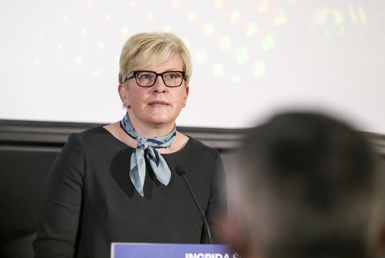 """I. Šimonytė apie pažangos strategiją """"Lietuva 2050"""": nenorėčiau, kad šis projektas taptų valdiškas"""